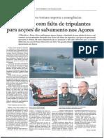 Marinha e Força Aérea testam resposta a emergências