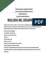 Biologia Del Desarrollo