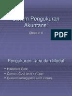 Bab 6 Teori Akuntansi Sistem Pengukuran Akuntansi