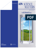 EPA Science Matters Newsletter, Clean Air Research