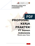 Proposal Kerja Praktek Semen Indonesia