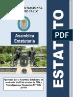 Estatuto Aprobado U Nacional Pedro Ruiz Gallo 2014