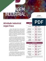 Sondagem Industrial - Outubro 2014 - Atividade Industrial Segue Fraca