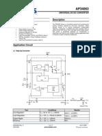 Ap34063 Universal Dc-dc Converter