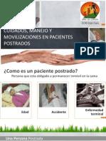 Manejo y Movilizaciones en Pacientes Postrados