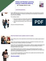 YH Leadership Meeting 22nd October 2014 Final