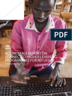 UNHCR Connected Learning Report