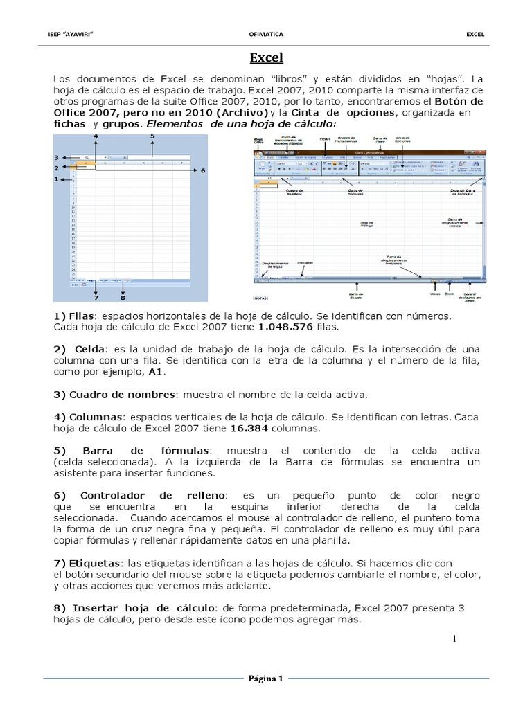 Excepcional Identificando Los Nombres De Hoja De Cálculo Foto ...