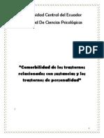 Comorbilidad de los trastornos por abuso de Sustancias