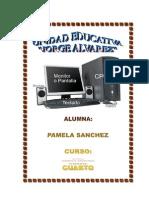 Partes Del Computador Pamela Sanchez