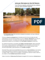 21-11-2014 Concluye contingencia por derrame en Río Sonora.