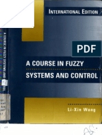 A Course in Fuzzy Systems and Control