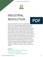 Industrial Revolution - Facts & Summary - HISTORY