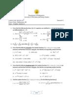 Complex Analysis-I_ Tutorial