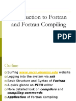 Fortran Compiling