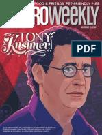 Metro Weekly - 11-20-14 - Tony Kushner