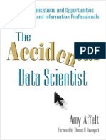 Sample chapter of The Accidental Data Scientist