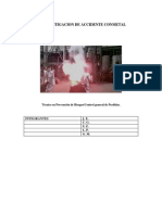 Investigación Accidente Conmetal por S.Z.