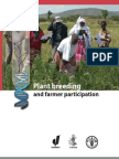 Plant Breeding and farmer participation