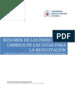 Guías RCP 2010 Resumen