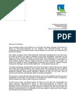 Courrier présidents région Haute et Basse Normandie SNCF ligne Paris-Cherbourg Normandie Actu
