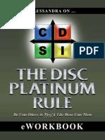Disc e Work Book