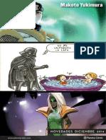 Lanzamientos Planeta Cómics Diciembre 2014