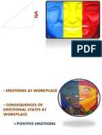 Emotions at Workplace
