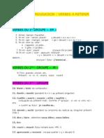 4° Grammaire - Conjugaison liste verbes