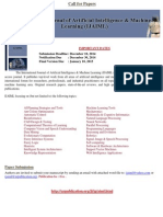 International Journal of Artificial Intelligence & Machine Learning (IJAIML)