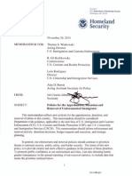 DHS Prosecutorial Discretion Memo 2015
