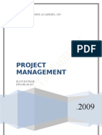 Project Managemnt Stages