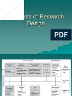 Elements of Research Design Modified