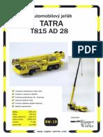 Ripper Works 019 Tatra T815 AD 28 (A4)