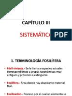 Capítulo III Paleontología General