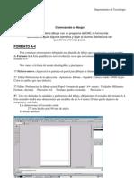 QCAD - formato A4-