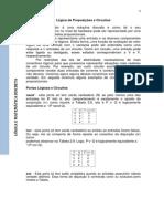 Lógica de Proposições e Circuitos