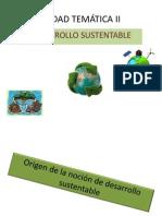 Unidad Temática II. Desarrollo Sustentable