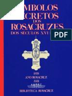 Livro Simbolos Secretos Dos Rosacruzes