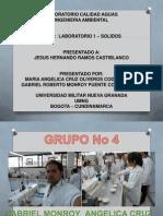Informe de Laboratorio Calidad de Aguas 2
