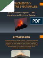 desastres y fenomenos naturales
