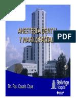 Anestesia dental y maxilofacial - Pau Casals Caus
