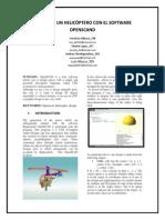 Robotica-helicóptero Con El Software Openscand (1)