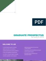 Graduate Prospectus 2015