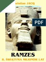 Ch.jacq - Ramzes 2 - Świątynia Milionów Lat