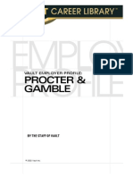 d34991a2e6c The Vault Guide to Procter   Gamble
