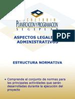 9 Aspectos Administ y Legales