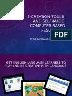 E-creation Tools - Isis y Julio