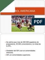 Futbol Americano y boleyball
