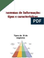 Aula2 Tipos de Sistema de Informação